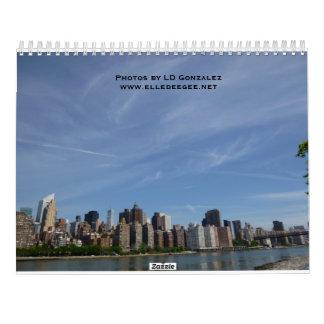 A Trip to New York Calendar