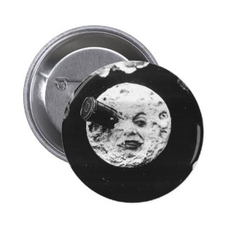 A Trip to the Moon 6 Cm Round Badge