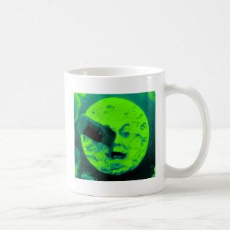 A Trip to the Moon (Aqua Marine Retro Sci Fi) Mug