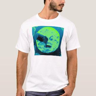A Trip to the Moon (Aqua Marine Retro Sci Fi) T-Shirt