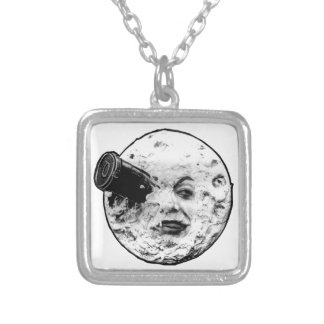 A Trip to the Moon Silver Plated Necklace
