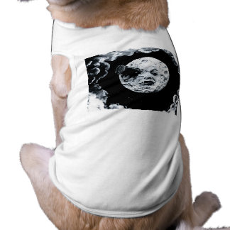 A Trip to the Moon Sleeveless Dog Shirt