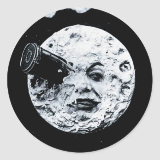 A Trip to the Moon Sticker