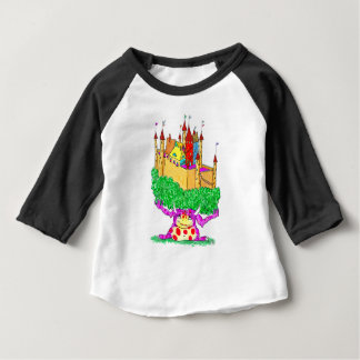 A troll and a castle baby T-Shirt