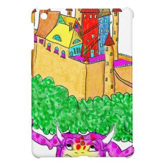 A troll and a castle iPad mini case