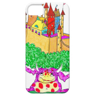 A troll and a castle iPhone 5 case