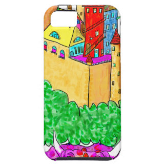 A troll and a castle iPhone 5 cover