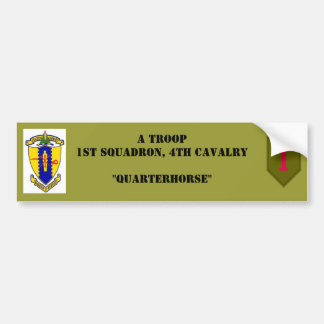 A-Troop bumper sticker