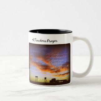A Truckers Prayer mug
