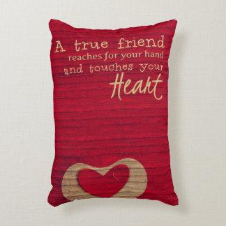 A True Friend - A Friendship Blanket - PILLOW