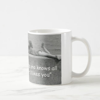 A True Friend Basic White Mug