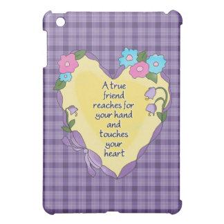 A True Friend Heart iPad Mini Cover