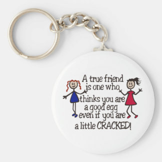 A True Friend Key Ring