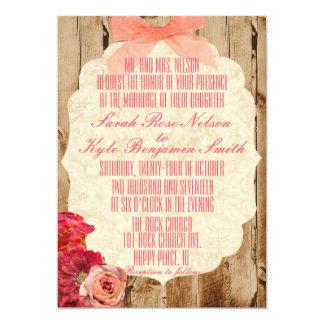 A True Love Story Wedding Invitation