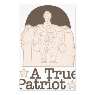 A True Patriot Stationery