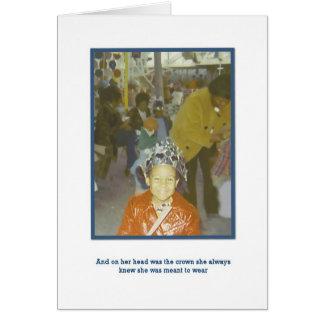 A True Queen Greeting Card