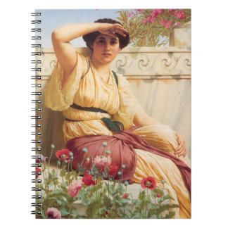 A Tryst - John William Godward Notebook