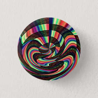 A Twisted Mind 3 Cm Round Badge