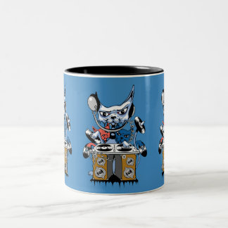 a Two-Tone coffee mug