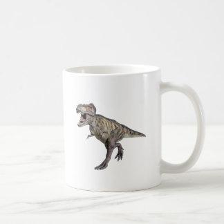 A Tyrannosaurus Rex Running to the Right Coffee Mug