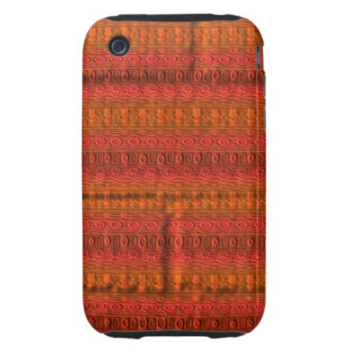 A unique and trendy pattern tough iPhone 3 covers