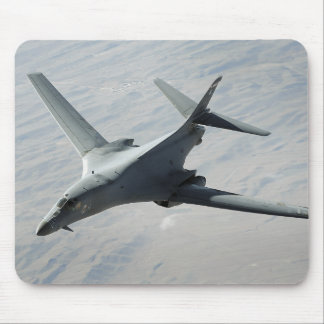 A US Air Force  B-1B Lancer on a combat patrol Mouse Pad
