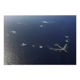 A US Air Force B-52 Stratofortress aircraft 2 Art Photo