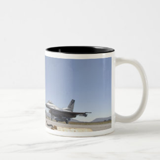 A US Air Force crew chief Two-Tone Coffee Mug