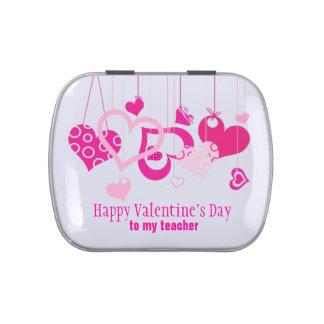 A Valentine for the Teacher Candy Tin