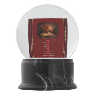A Valentine From God Snow Globes