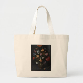 A Vase with Flowers Large Tote Bag