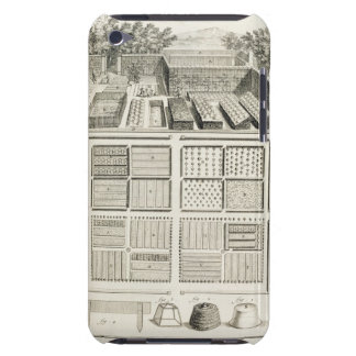 A vegetable garden, from 'The Encyclopedia of Scie iPod Touch Cover