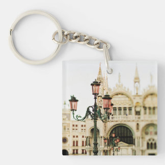 A Venetian Concerto Double-Sided Square Acrylic Key Ring