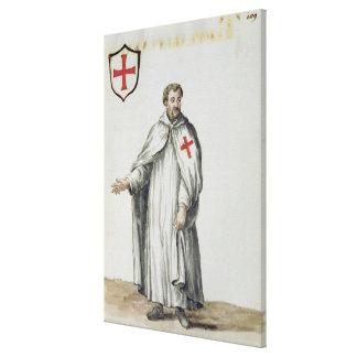A Venetian Templar Canvas Print