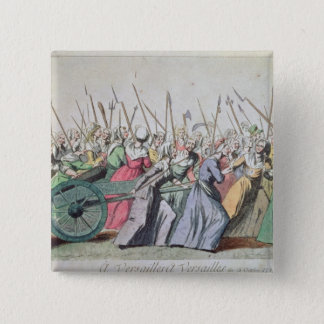 A Versailles, A Versailles' March of the Women 15 Cm Square Badge