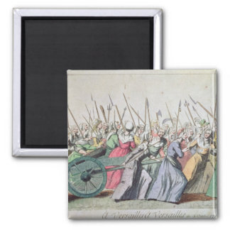 A Versailles, A Versailles' March of the Women Square Magnet