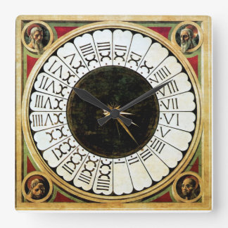 A VERTICAL SUNDIAL AND THE ENIGMA OF HOURS SQUARE WALL CLOCK