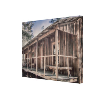 A Very Fine House Canvas Print
