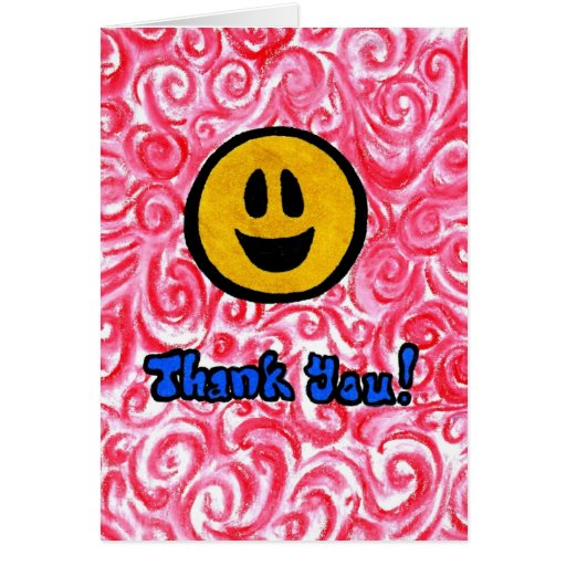A Very Happy Thank You Greeting Card