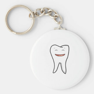 A Very Happy Tooth Key Ring
