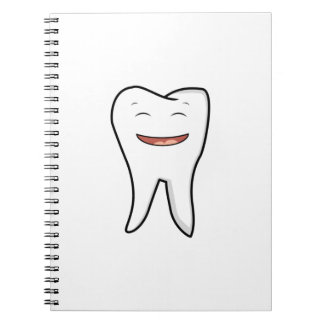 A Very Happy Tooth Notebook