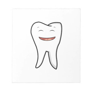 A Very Happy Tooth Notepad