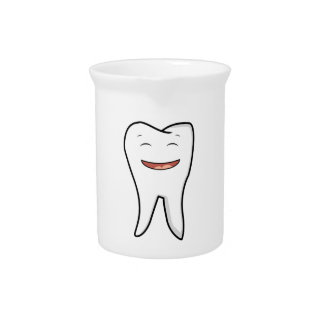 A Very Happy Tooth Pitcher