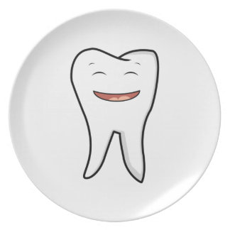 A Very Happy Tooth Plate