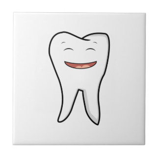 A Very Happy Tooth Tile
