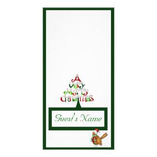 A Very Merry Christmas Customised Photo Card