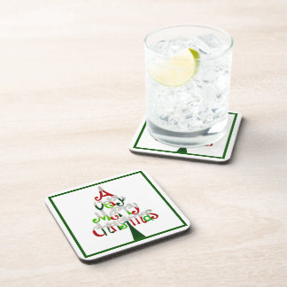 A Very Merry Christmas Drink Coaster