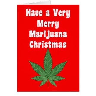 A Very Merry MaryWanna Christmas & Happy New Beer Card