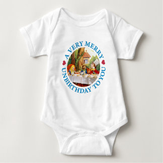 A Very Merry Unbirthday to You! Baby Bodysuit