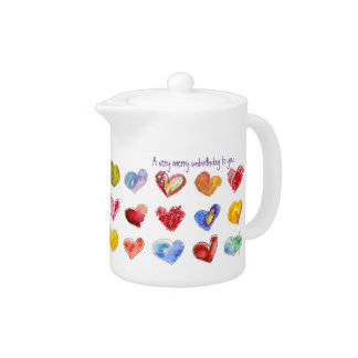 A Very Merry UnBirthday To You Tea Pot